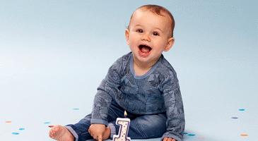 barnets 1 års fødselsdag