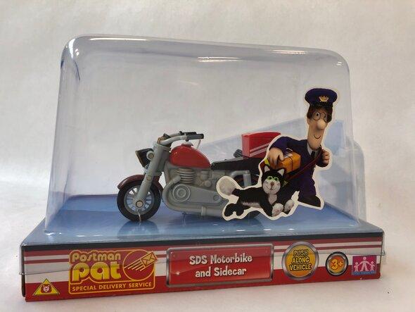 Postmand Per Motorcykel