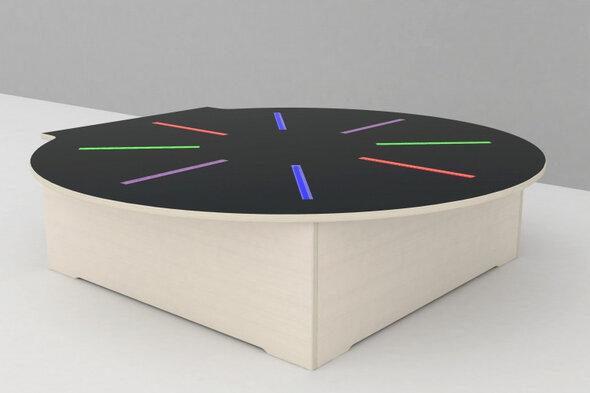Discomodul med LED lys