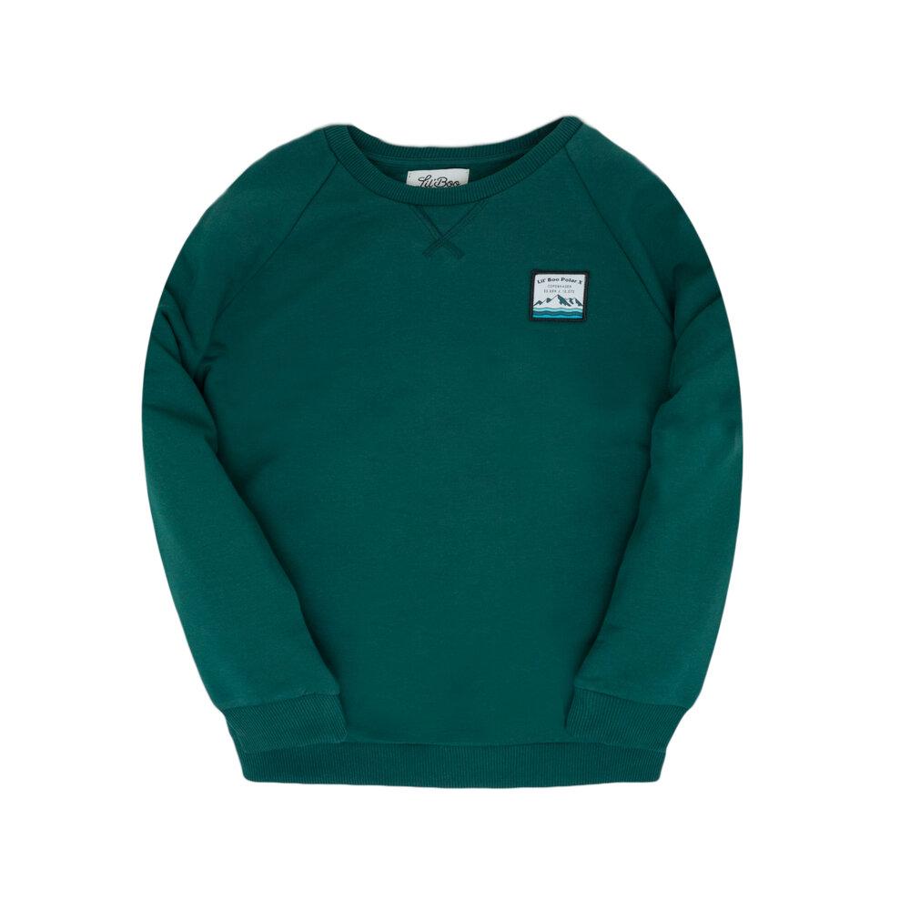 Image of Lil' Boo Polar classic sweatshirt - MØRKEGRØN (8430779d-1682-492f-a1a9-79ac3e3724bb)