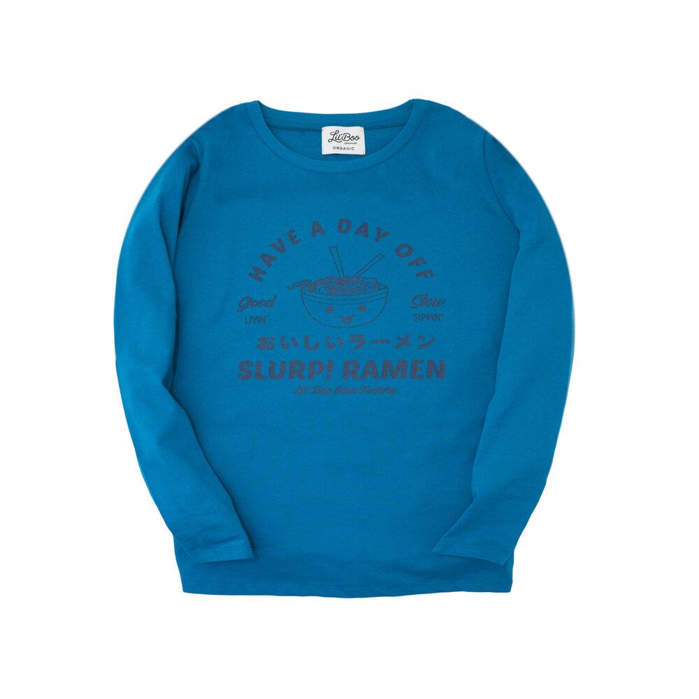 Image of Lil' Boo Ramen T-Shirt - PETRO BLÅ (10e92d8d-a583-4b64-a4c4-f15a6de4a850)