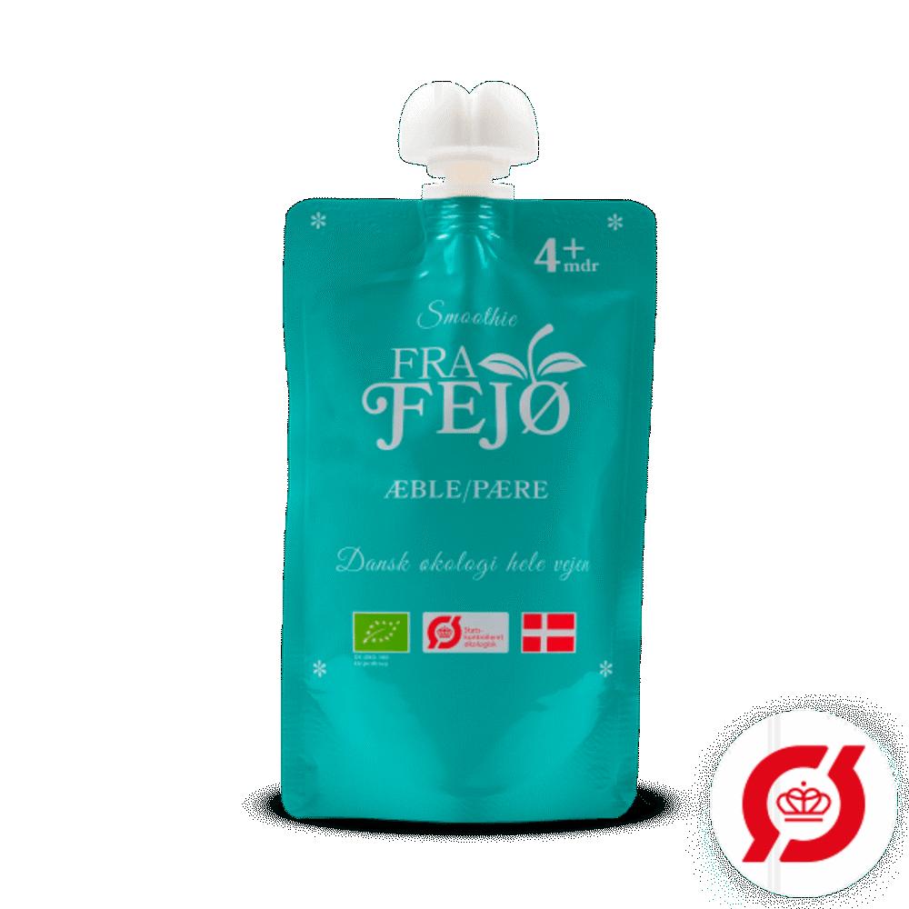Image of FRA FEJØ ØKO smoothie m. æble/pære (321665af-6555-4e99-be21-94d1b058af95)