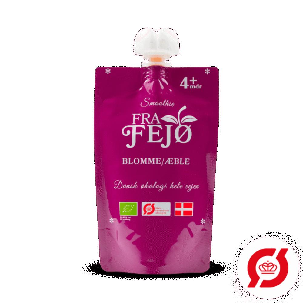 Image of FRA FEJØ ØKO smoothie m. blomme/æble (2638833c-472e-4f23-8e99-f8e4695a15ff)