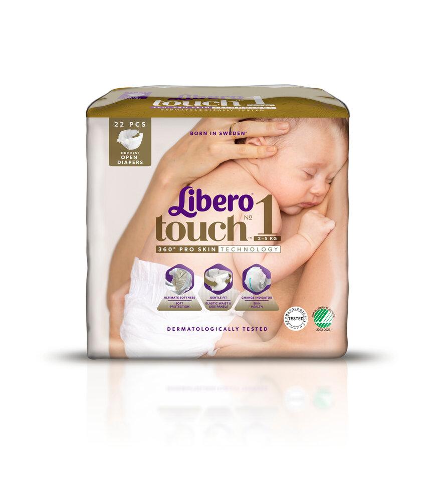 Image of Libero Touch (Str.1) 2-5 kg. (72edc4af-7fc5-4c88-8df7-16da6dfa1cee)