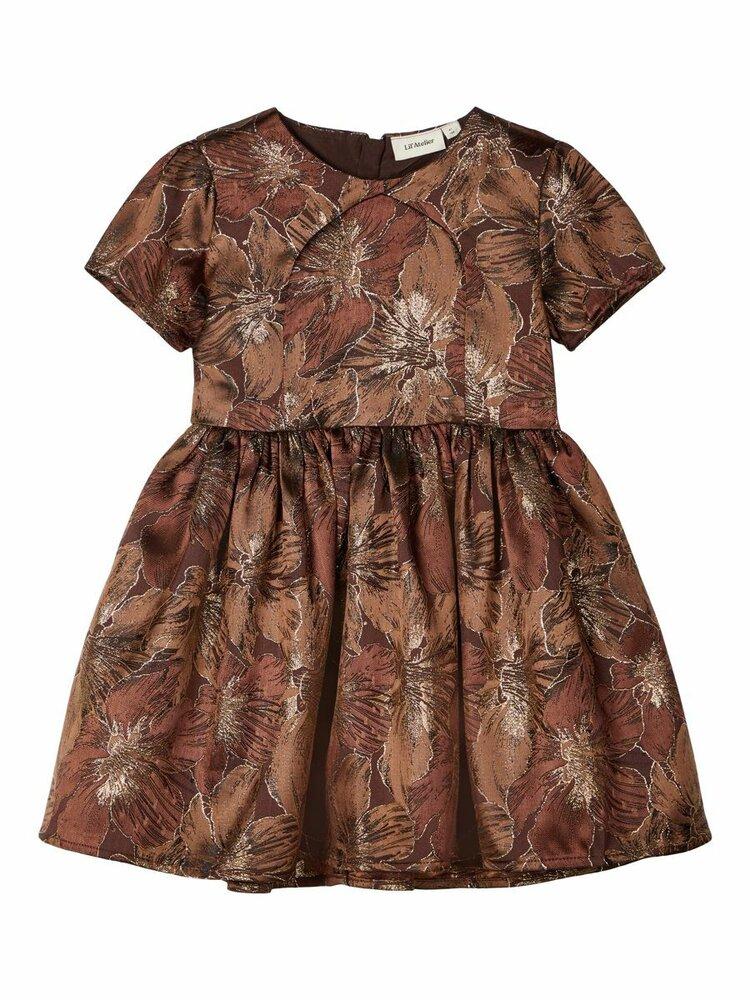 Image of Lil' Atelier Elora ss kjole - D.MAHOGANY (dd92af57-bffc-4206-91e0-bdd1727a5e93)