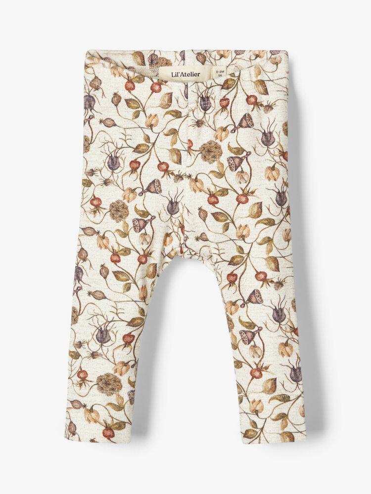 Image of Lil' Atelier Emke slim leggings - PEYOTE (f8f83590-944b-4dfb-81cb-48e7c47b327f)