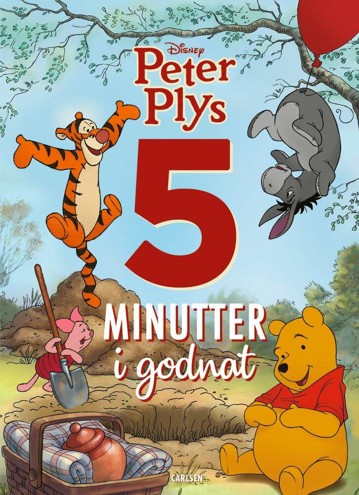 Image of Lindhardt og Ringhof Fem minutter i godnat - Peter Plys (88893bdf-ce99-4306-94be-01a7e616305d)