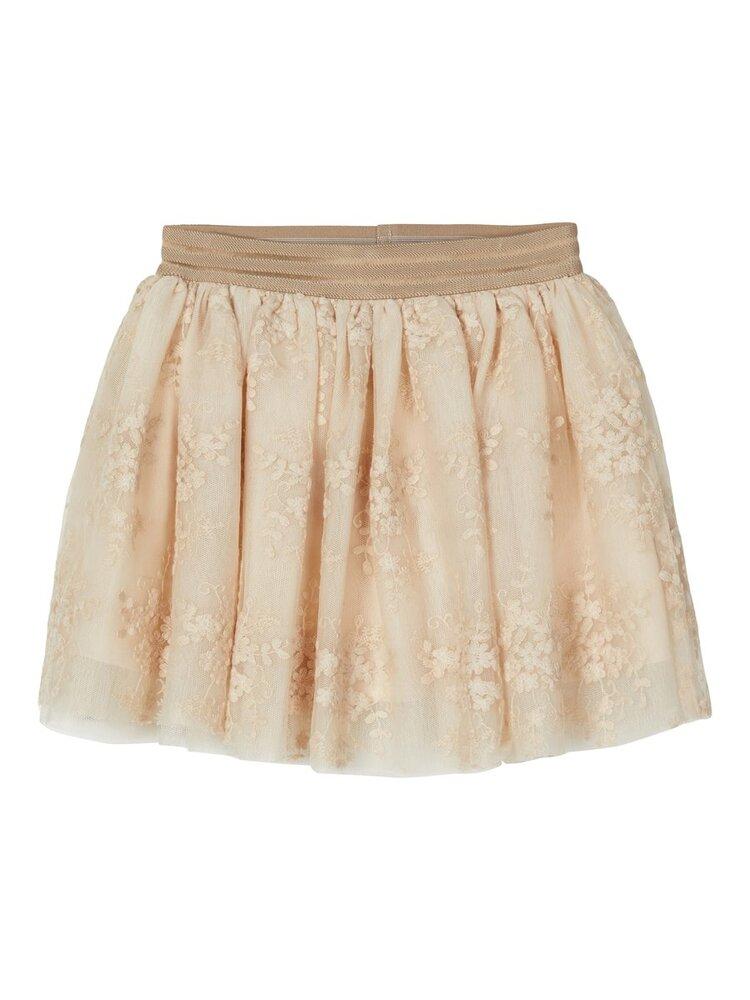 Image of Lil' Atelier Ebony tulle nederdel - PEYOTE (40e31693-0c97-458e-b390-9302da4562ea)