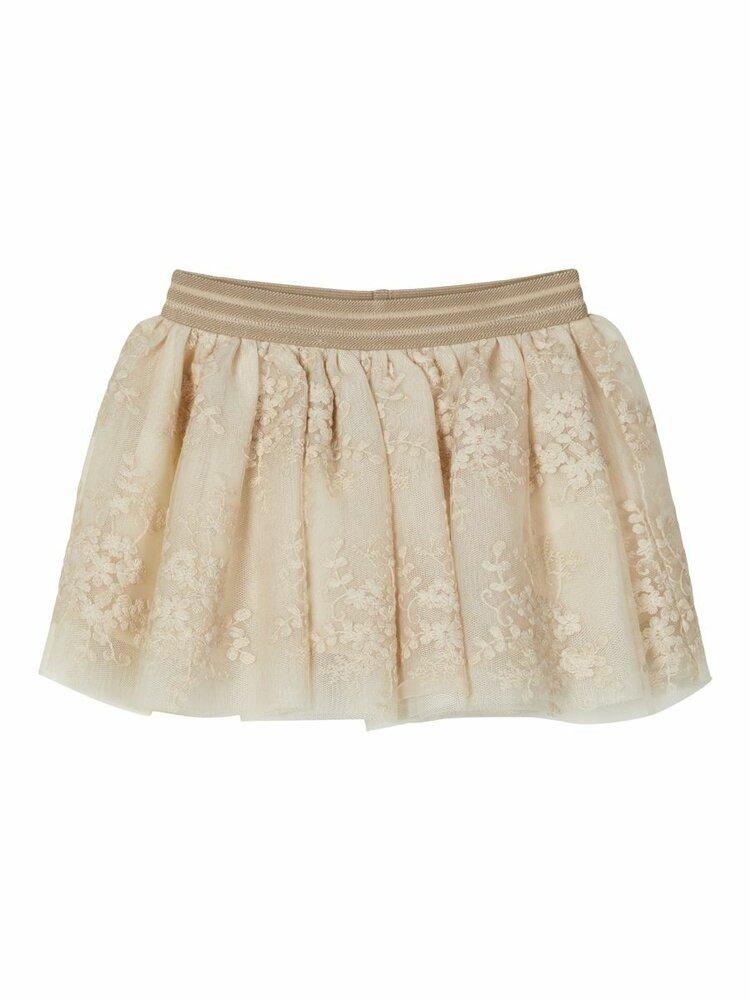 Image of Lil' Atelier Ebony tulle nederdel - PEYOTE (86399a36-76fd-4691-9de6-c883884f03ab)