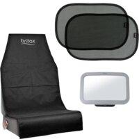 Sædebeskytter - solskærm - Babyspejl pakke