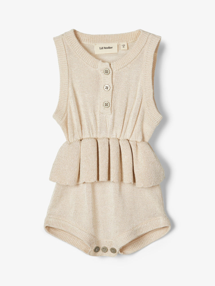 Image of Lil' Atelier Ember LS knit body - PEYOTE MEL (841e8275-b649-47dd-aeee-ef4a2b852eb0)