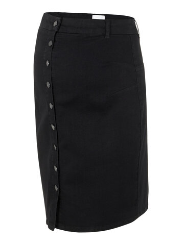 Ash denim abk skirt - BLACK DENIM