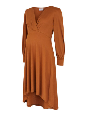 Abella tess jersey uk dress - GLAZED GINGER