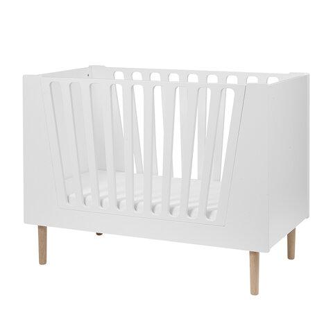 Babyseng 60 x 120 cm hvid