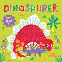 Dinosaurer Mærk Og Føl-Bog
