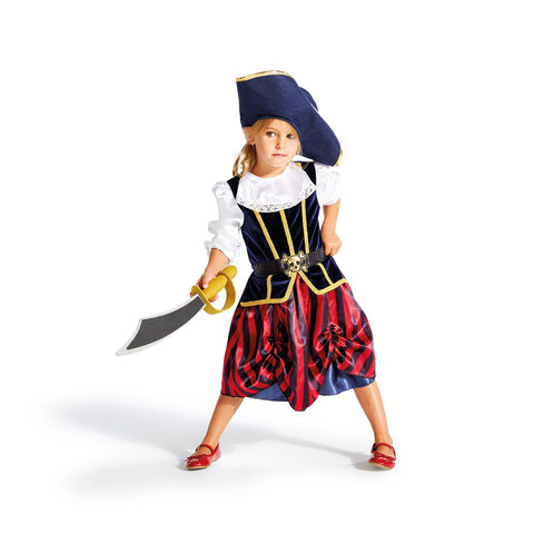 Piratinde kostume 3-5 år