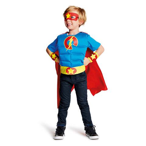 Superhelt kostume 3-5 år
