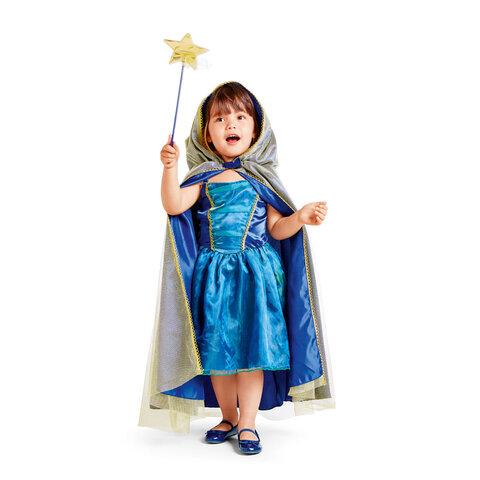 Tryllekunstner kostume, 3-5 år