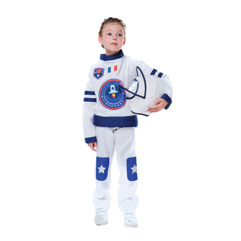 Astronaut kostume 3-5 år