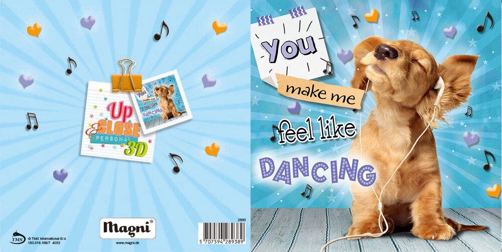 Image of Magni 3D Kort - Feel Like Dancing (22a6b7e9-92d9-4952-b488-473639333ea3)