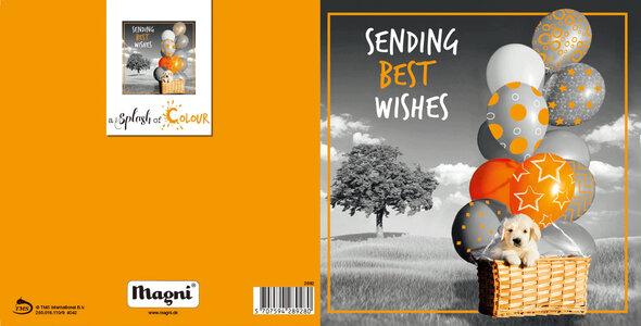 3D Kort - Sending Best Wishes