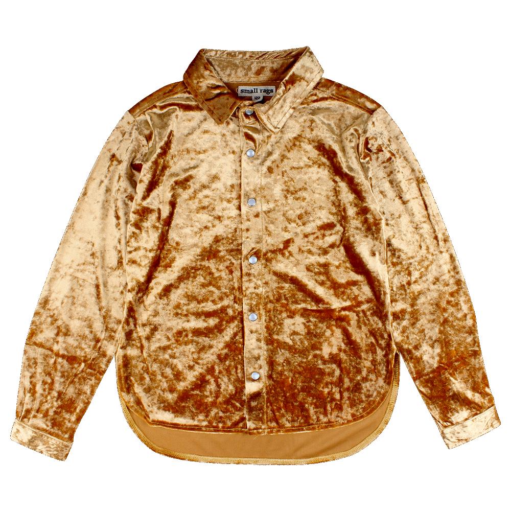 Small Rags Hanna Langærmet T-shirt - 02-66 Pale Gold