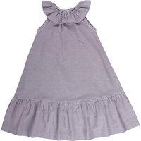Woven stripe kjole - 700852101