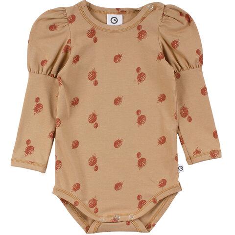 Berry puff sleeve body - 17104501