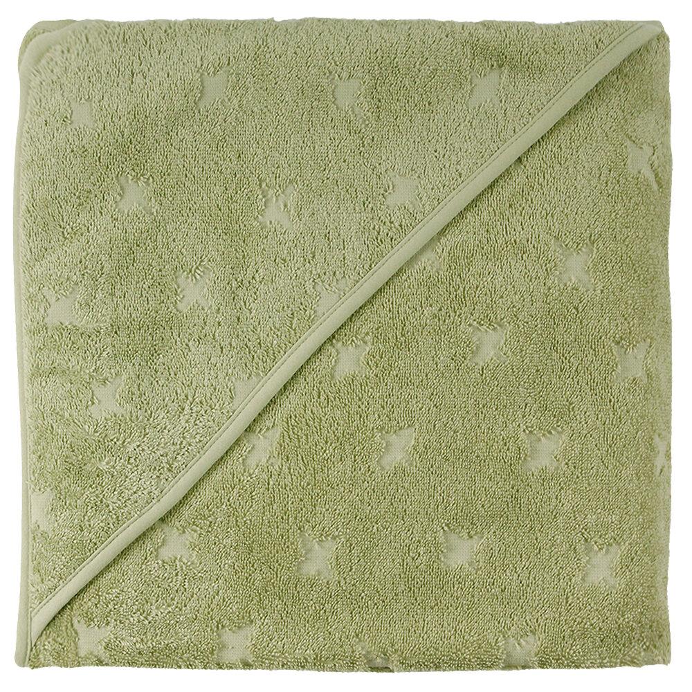 Billede af Müsli Baby Håndklæde pale Moss 100x100