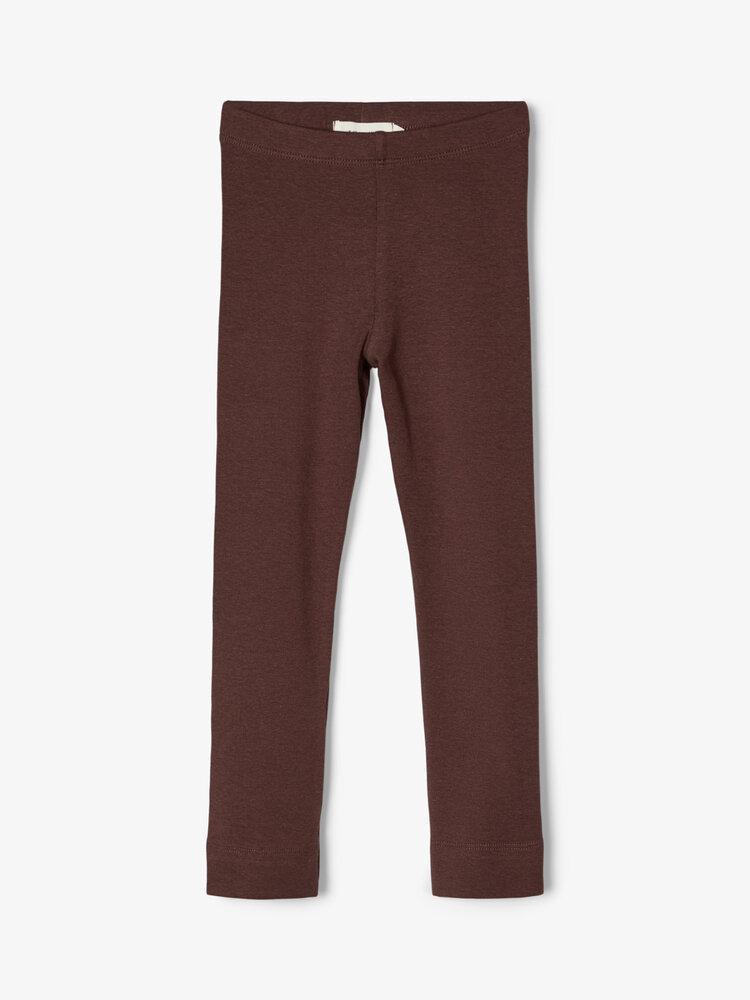 Image of Lil' Atelier Emke slim leggings - D.MAHOGANY (5ae133da-83c4-44ad-97a1-2701b08dca72)