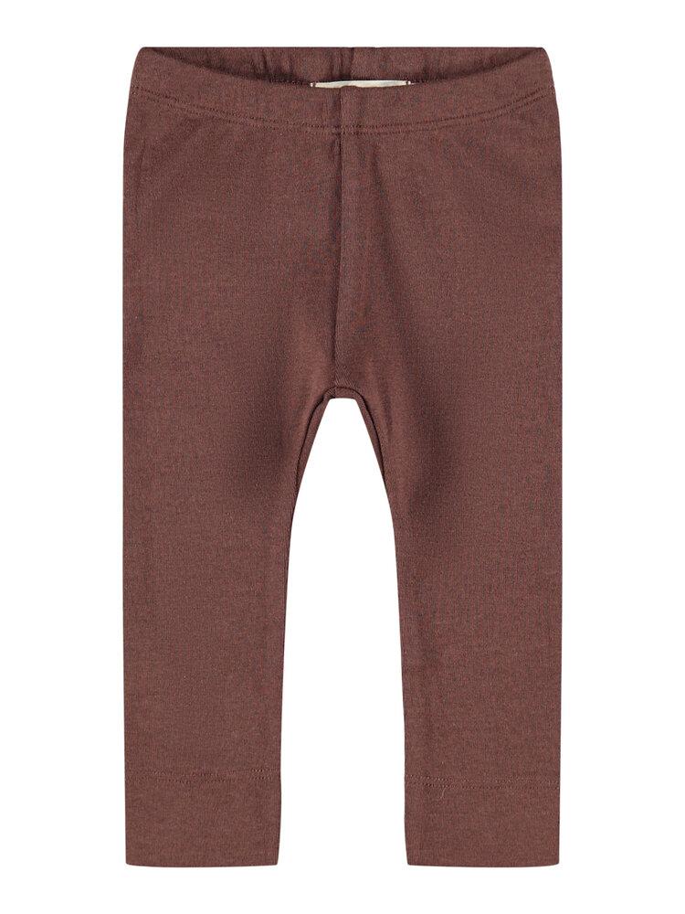 Image of Lil' Atelier Emke slim leggings - D.MAHOGANY (d3c75f3a-d0ca-4c89-b737-6acb9b09753b)