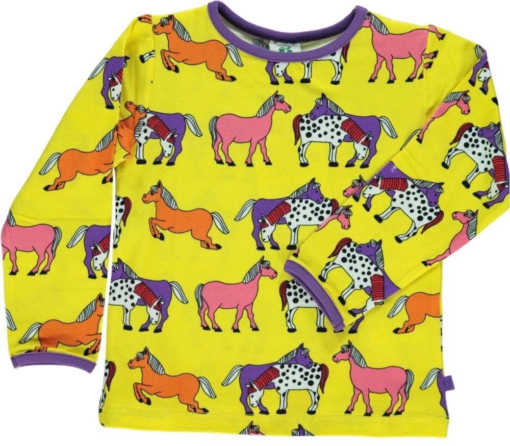 Småfolk T-shirt - YELLOW
