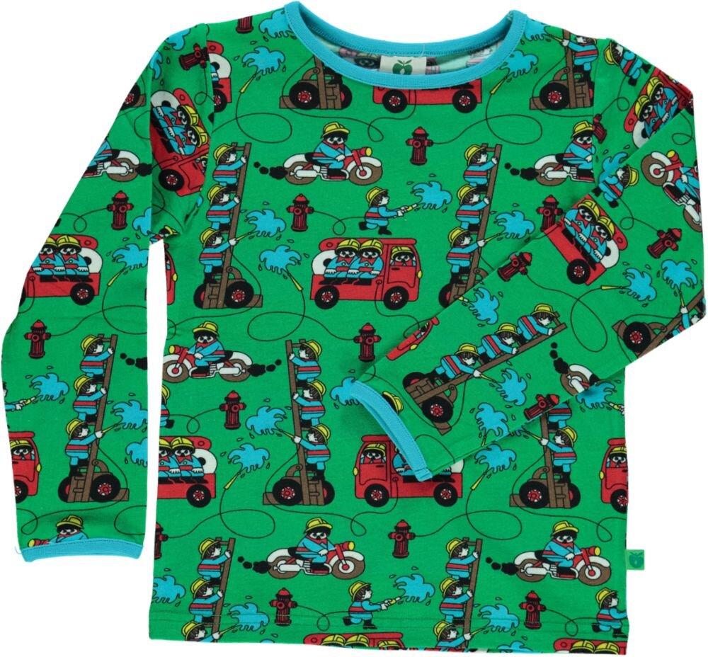 Image of Småfolk T-shirt - GREEN (13b4ee66-9ea5-4939-bd3a-c4ac4341b29a)