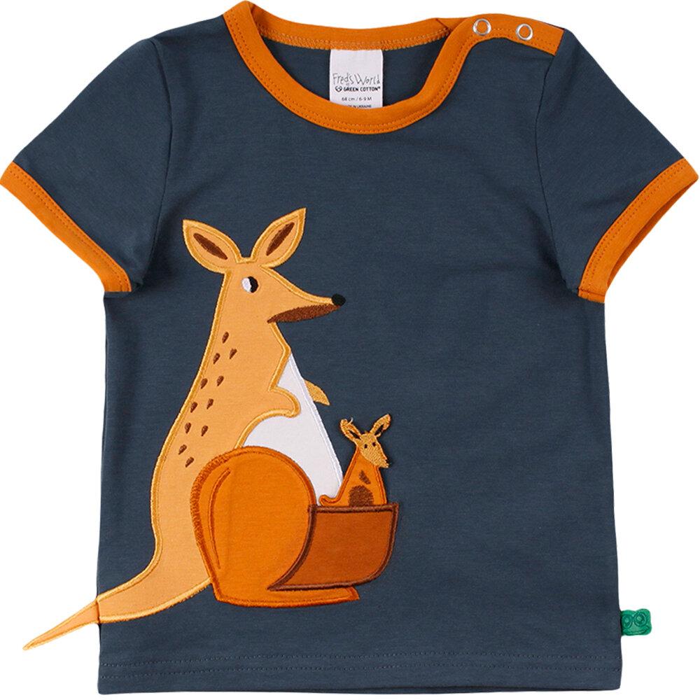 Image of Freds world Hello Kangaroo s/s T-Shirt - 019411006 (58d12b85-3623-4412-af05-c64b298acfb8)