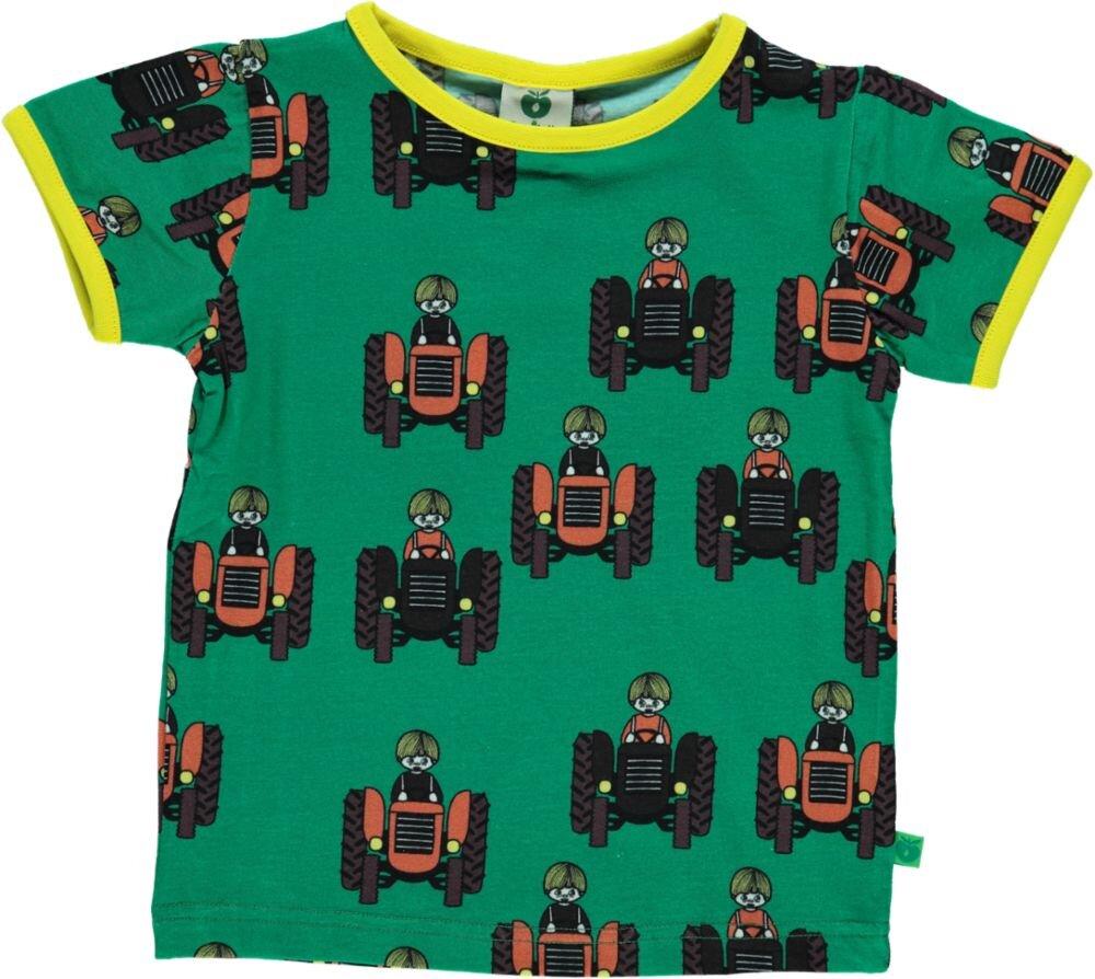 Image of Småfolk T-shirt - GREEN (556ffccb-9073-442b-b26d-a1d9654f1816)