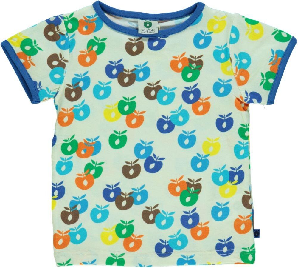 Småfolk T-shirt - BLUE