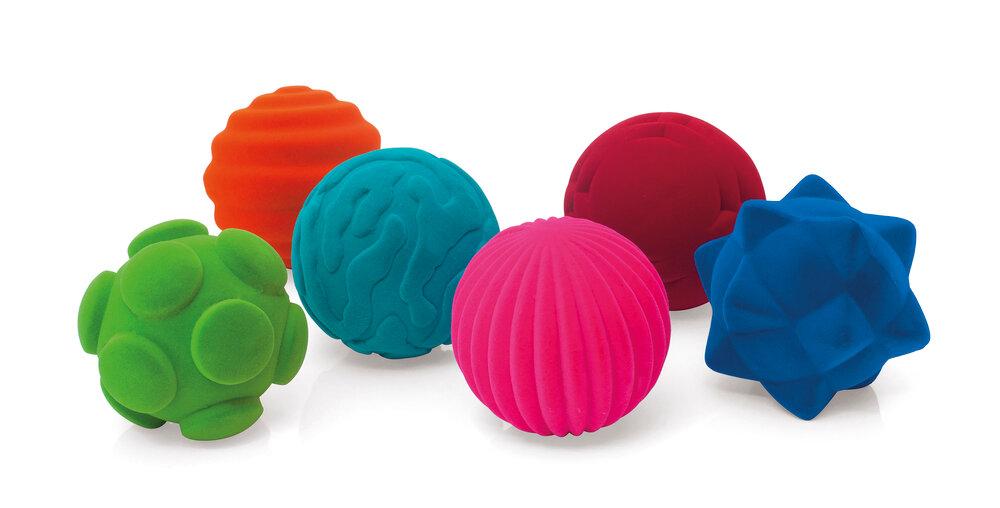 Image of Rubbabu Taktile Bolde - Flere Farver (15bc959e-2387-4c10-ad2b-ec7b61d6d428)