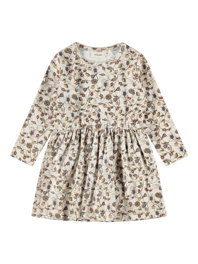 Image of Lil' Atelier Emke LS kjole - PEYOTE (1b1a462f-be42-4f40-b309-d5898e973fe8)