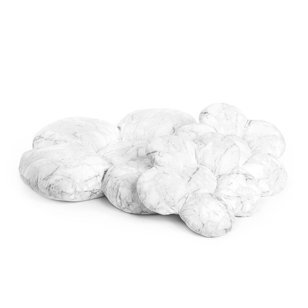 Image of Kidkii Blomster pude sæt Marble (06428a96-eb9f-44ee-bd7c-cded90f6d8ec)