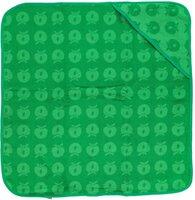 Baby håndklæde med æbler apple green