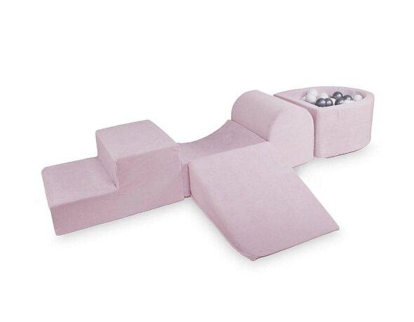 Skum legesæt med boldbassin Baby Pink