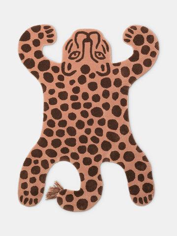 Tufted gulvtæppe - Leopard