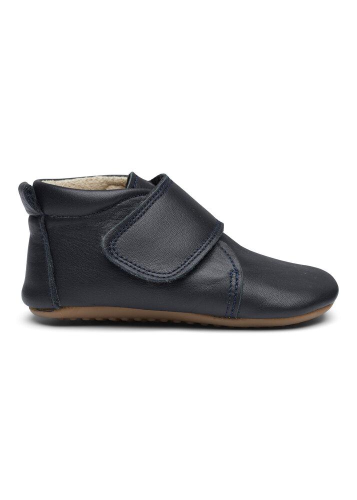 Image of Pompom Hjemmesko Velcro - black (f45aeadf-9100-435a-9b4a-92023ad0371d)