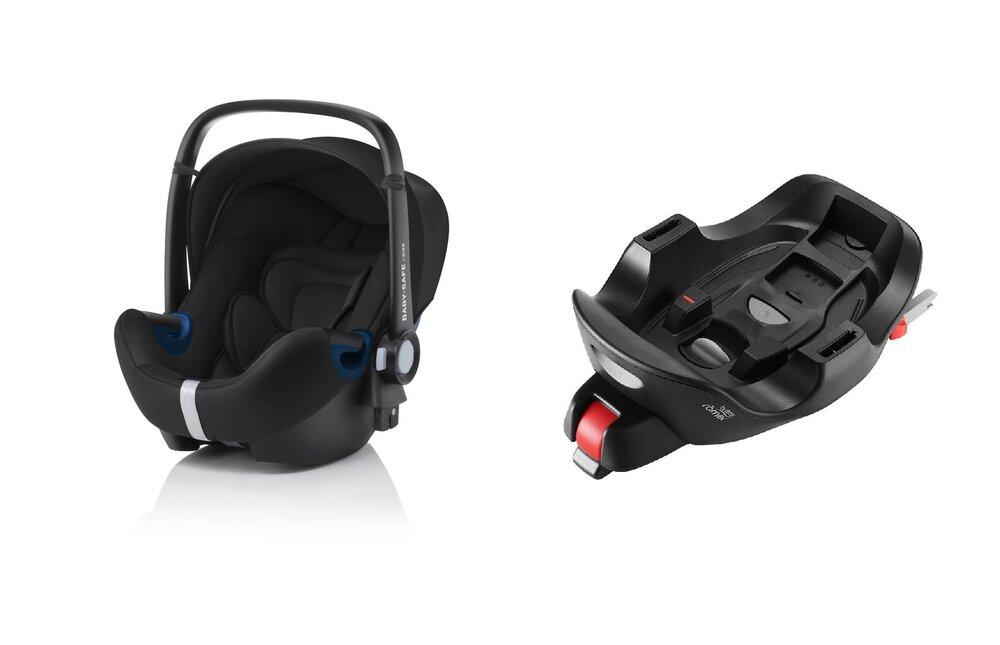 Image of Britax-Römer Baby-Safe2 I-Size babyautostol og Baby-Safe i-Size Flex Base (d8693571-f655-4562-a4f9-ef58f643b131)