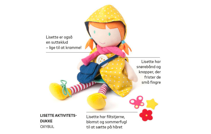 Oxybul Lisette dukke