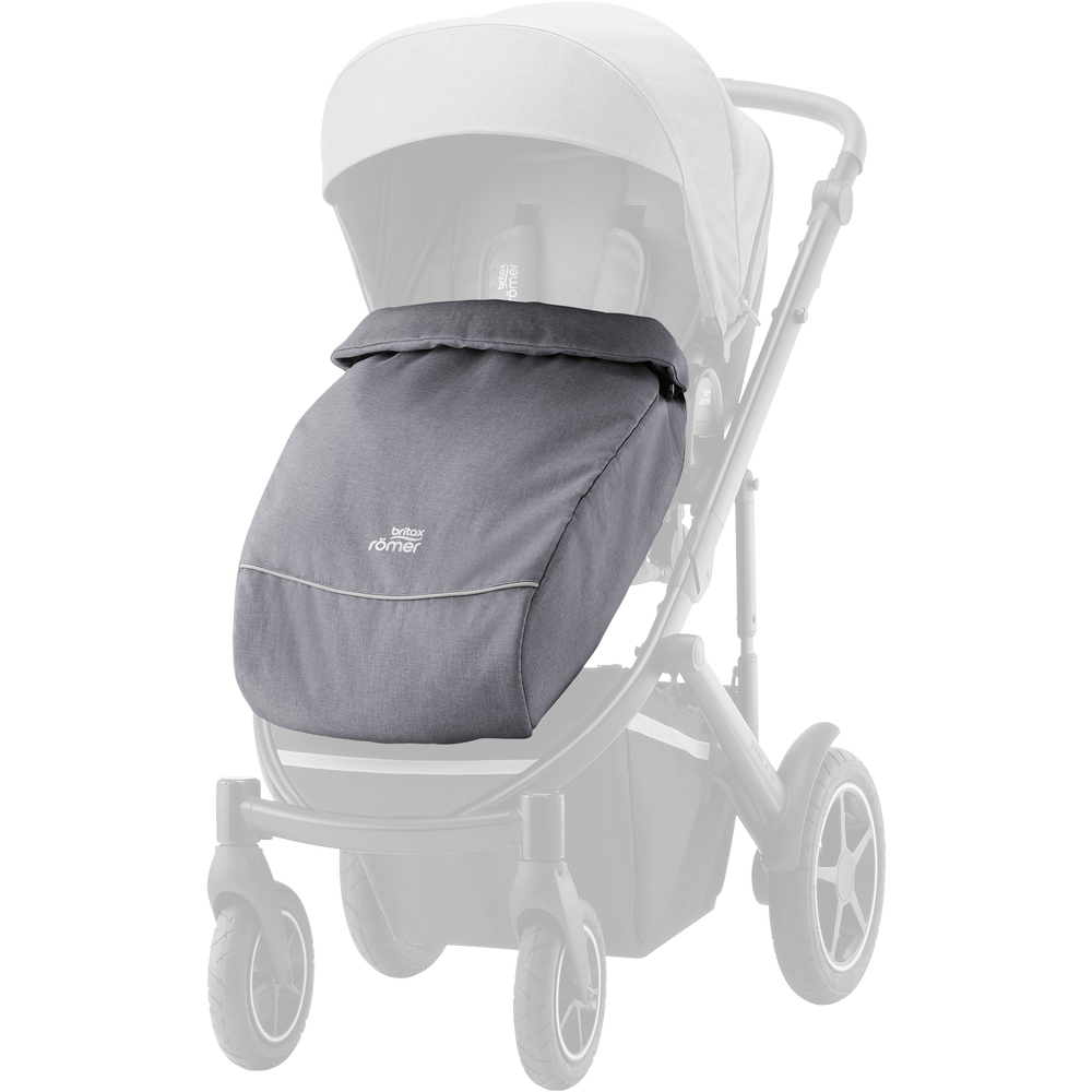 Image of Britax SMILE III forlæder frost gery (8485ca69-96e2-4367-bba8-fc45489170be)