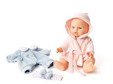 Min første dukke til bad