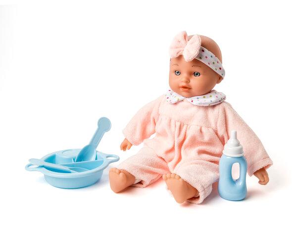 Min første dukke med tilbehør