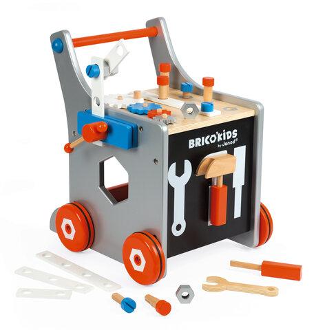 Brico'Kids Trolley Med Værktøj
