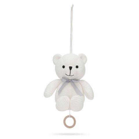 Little Teddy Musikuro Bamse - Ivory